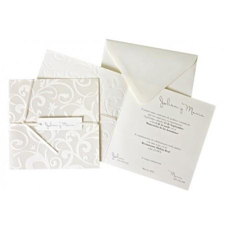 Invitación boda Edima Bouquet 531
