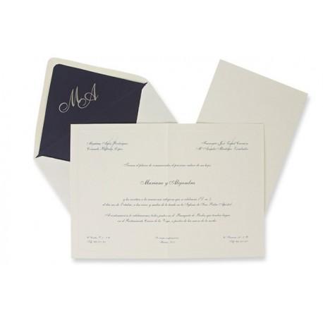 Invitación boda Edima Tradición 326