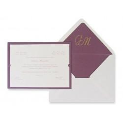 Invitación boda Edima Tradición 325
