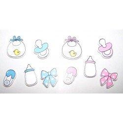 Sticker con adhesivo motivos bebé