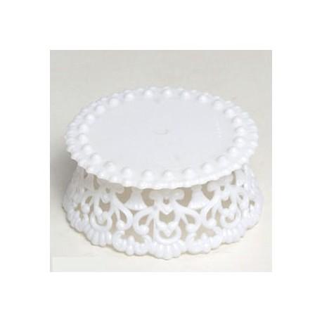 Peana pequeña para figura pastel