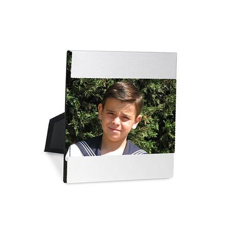 Marco de fotos en aluminio horizontal
