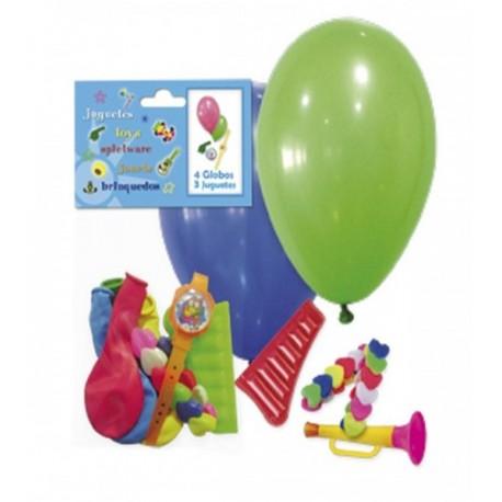 Bolsa para interior de Piñatas con globos