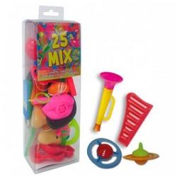 Estuche con 25 juguetes para Piñatas
