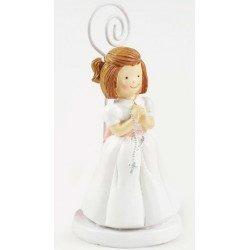 Portafotos Comunión niña con rosario
