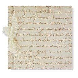 Libro de firmas boda Manuscrito