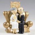 Figura tarta Bodas de Oro