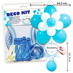 Kit globos chupete baby shower niño