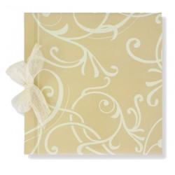 Libro de firmas boda Dibujo crema
