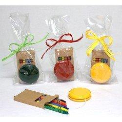 Bolsa cumpleaños yo-yo y 6 ceras colores