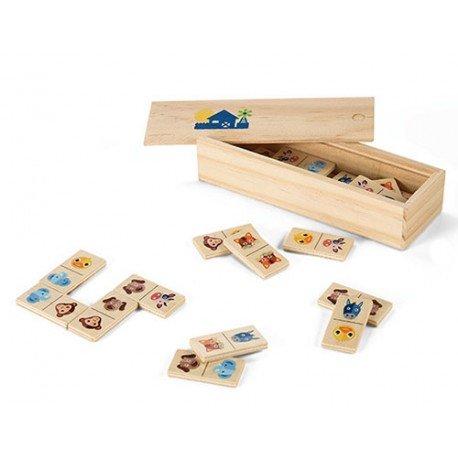 Domino infantil en madera