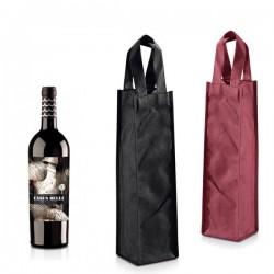 Bolsa para vino con asa non woven