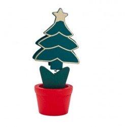Clip porta notas árbol de navidad