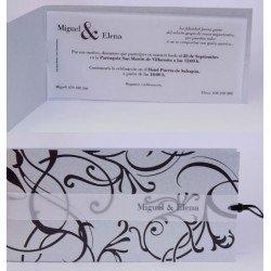 Invitación boda Edima Bouquet 535