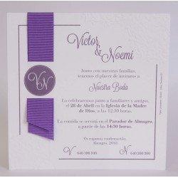 Invitación boda Edima Bouquet 707
