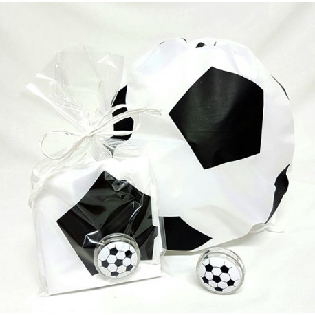 Mochila y botella balón fútbol
