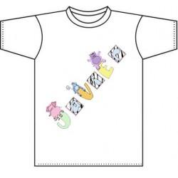 Camiseta blanca niños diseño Baby animals