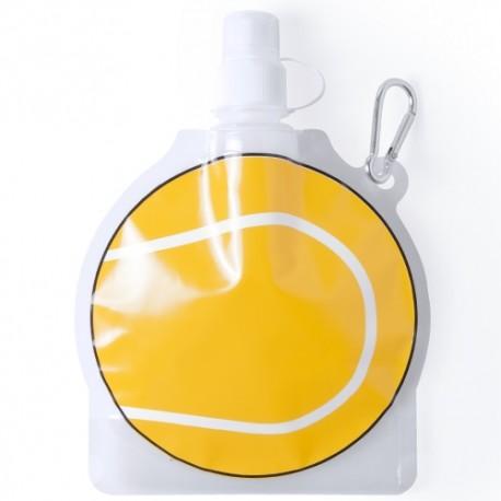 Botella infantil plegable pelota Tenis