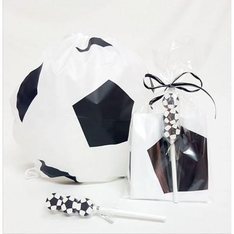 Mochila balón con lápiz y gomas balón fútbol