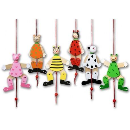Animalito móvil con cuerda