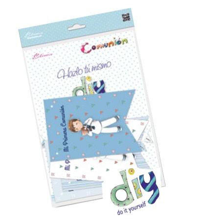 Pack 12 banderines Comunión niño con Cáliz