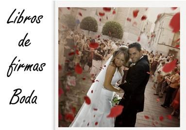 Libros de firmas de boda