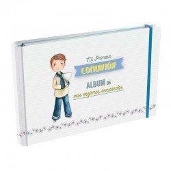 Álbum de Comunión, Niño de Marinero con Cáliz
