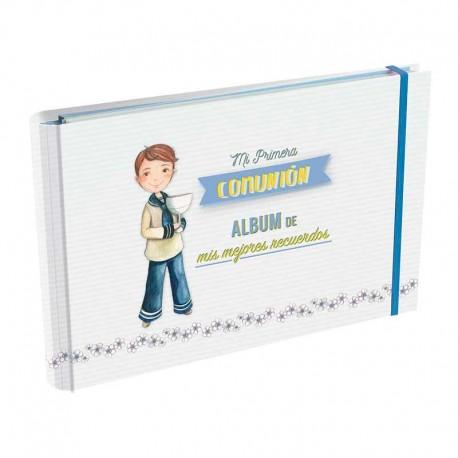 Álbum de Primera Comunión, Niño de Marinero con Cáliz