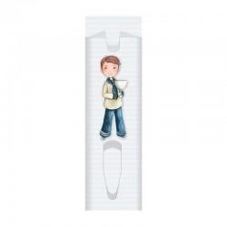 Pack 10 fundas para bolígrafo niño marinero con Cáliz