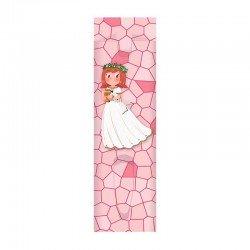 Pack 10 fundas para bolígrafo niña sonriente con Cáliz pequeño