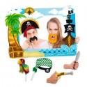 Marco photocall piratas con accesorios