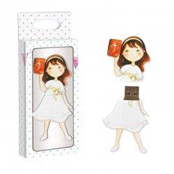 Memoria USB 8 GB niña con biblia