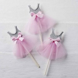 Pic bailarina decorar cupcakes