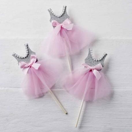 Pic bailarina para decorar cupcakes