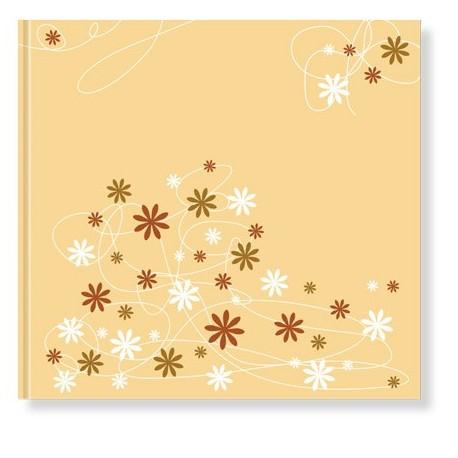 Libro de firmas boda Floral amarillo