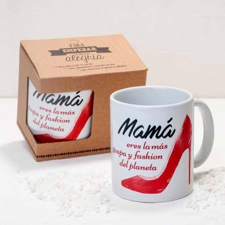 Taza regalo para el Día de la Madre con caja regalo
