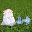 Protector para tacones bolsa rosa