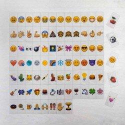 Set emoji para caja de luz