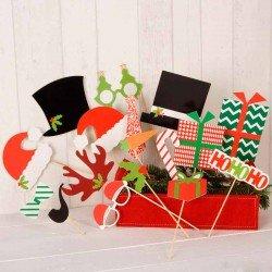 Set para photocall Navidad
