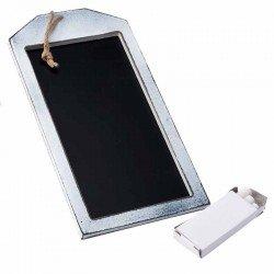 Pizarra para colgar rectangular