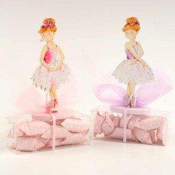 Clip portanotas bailarina con caramelos
