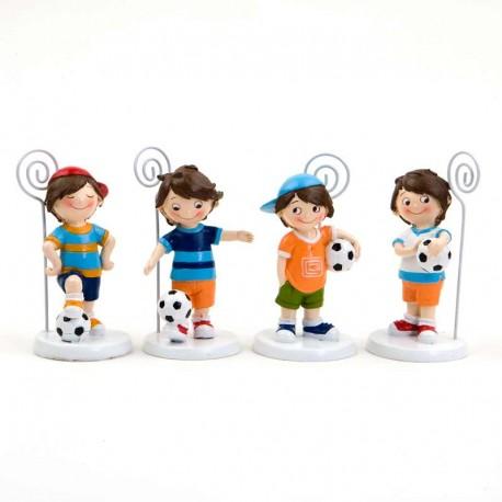 Portafotos futbolista, detalles para niños