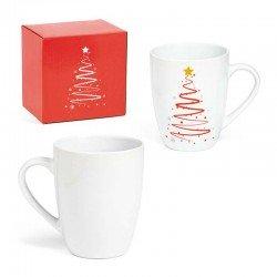 Taza mug de cerámica con Árbol de Navidad