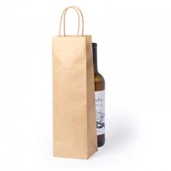 Bolsa de papel para botella de vino