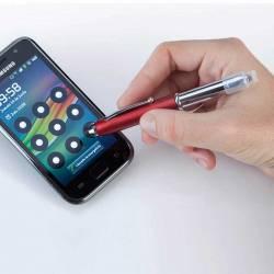 Bolígrafo con puntero y linterna integrada