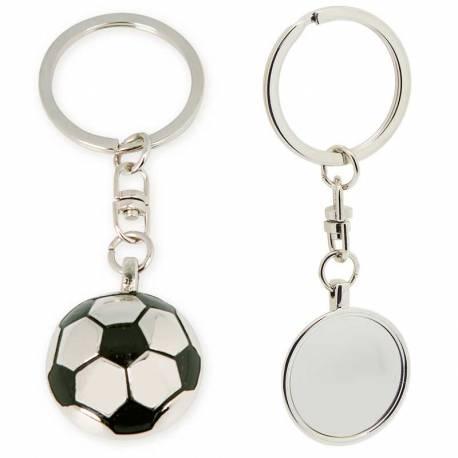 Llavero con forma de balón de fútbol
