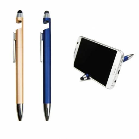 Bolígrafo con soporte sujeta móvil o tablet