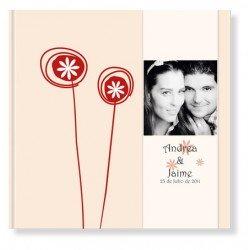 Libro de firmas boda Caramelos