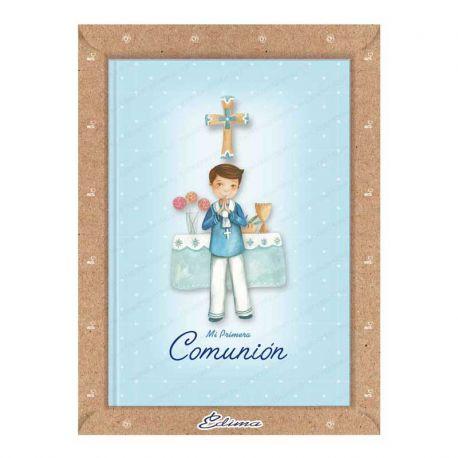 Misal Primera Comunión niño marinero en el altar