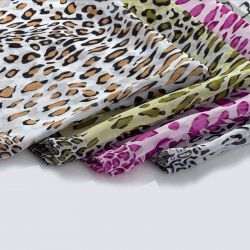 Pashmina estampada leopardo